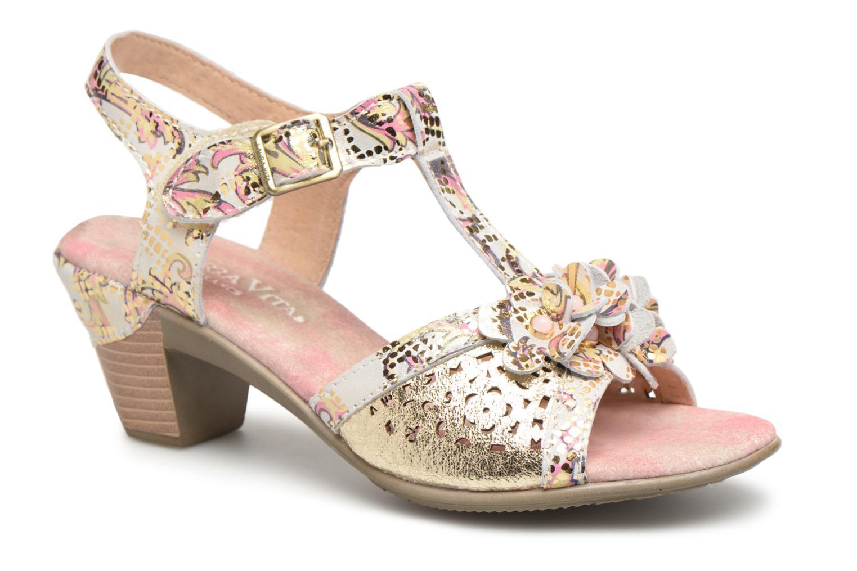 Grandes descuentos últimos zapatos Laura Vita Bettino058 (Oro y bronce) - Sandalias Descuento