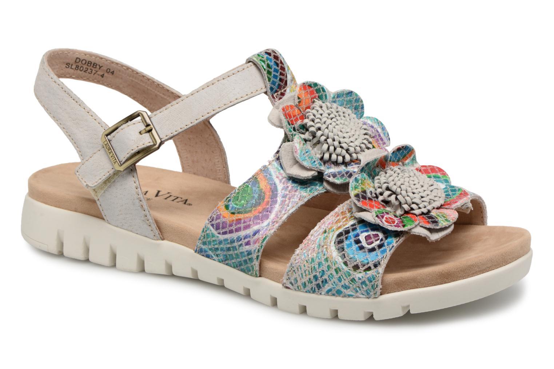 Vita Laura Multicolore Femme Dobby Sandale Chaussures Gh8hua1z 35q4LcAjSR