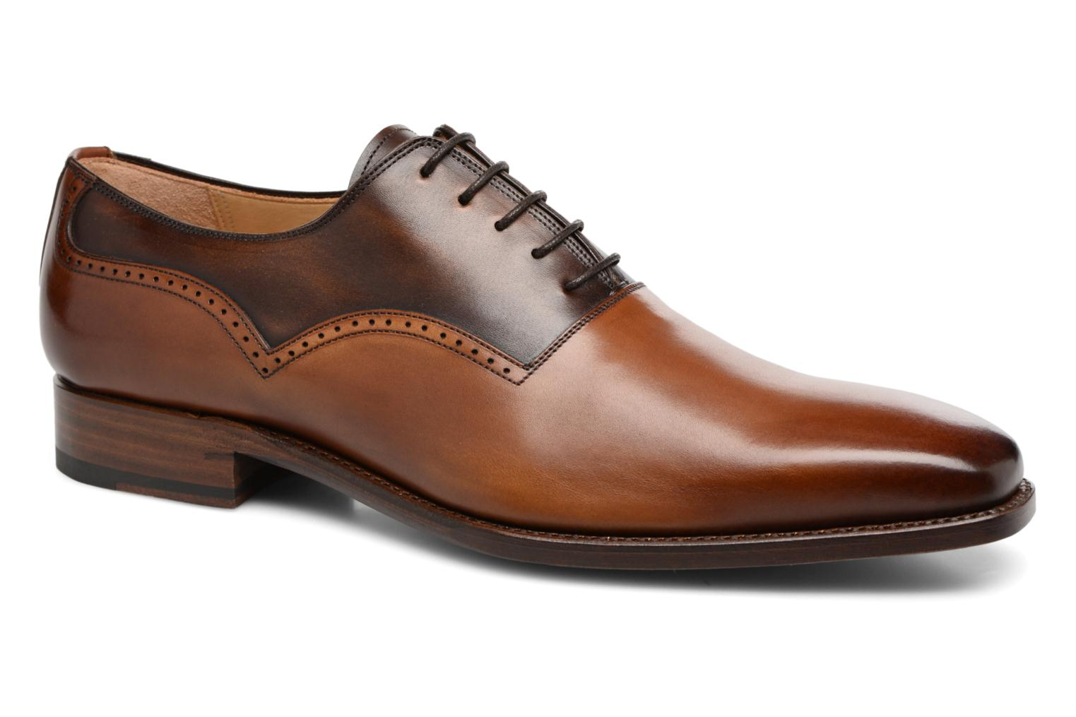 Marvin&Co Luxe Westminster - Cousu Goodyear (Marron) - Chaussures à lacets chez Sarenza (313010)