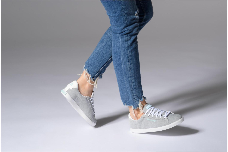 Sneakers Le Coq Sportif Agate Lo Tech Jersey Grijs onder