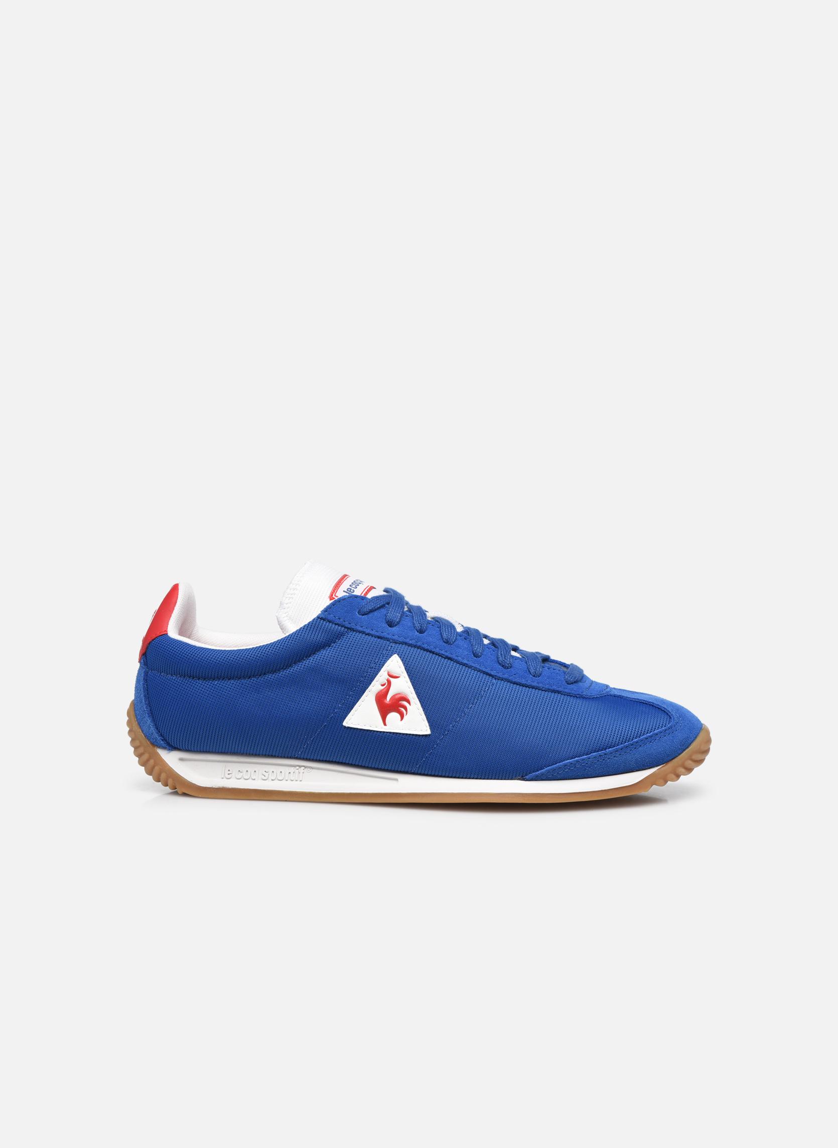 Sneakers Le Coq Sportif Quartz Nylon Gum Blauw achterkant