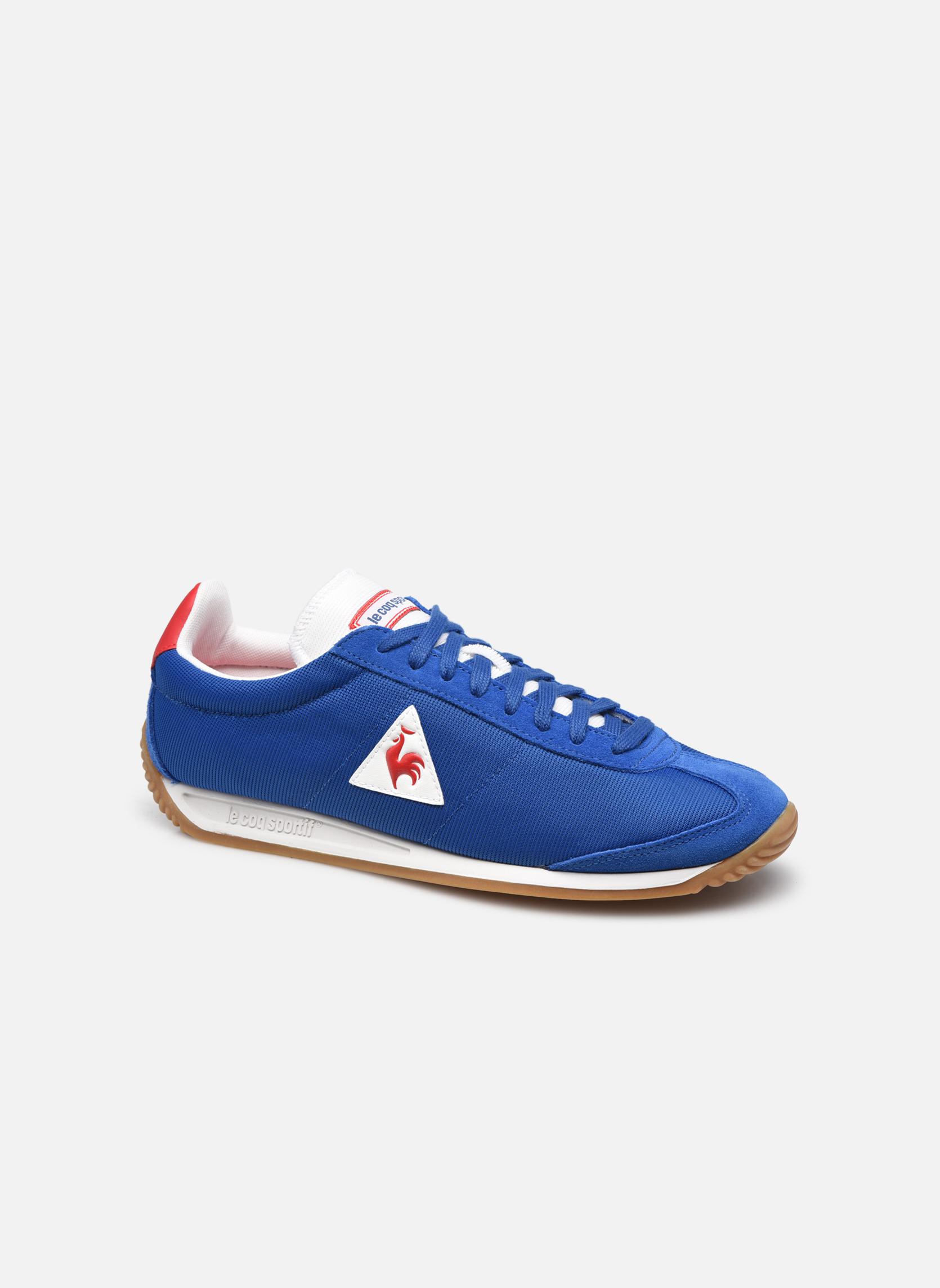 Sneakers Le Coq Sportif Quartz Nylon Gum Blauw detail