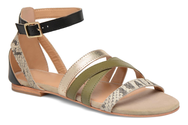Sandales et nu-pieds Made by SARENZA Carioca Crew Sandales Plates #1 Vert vue droite
