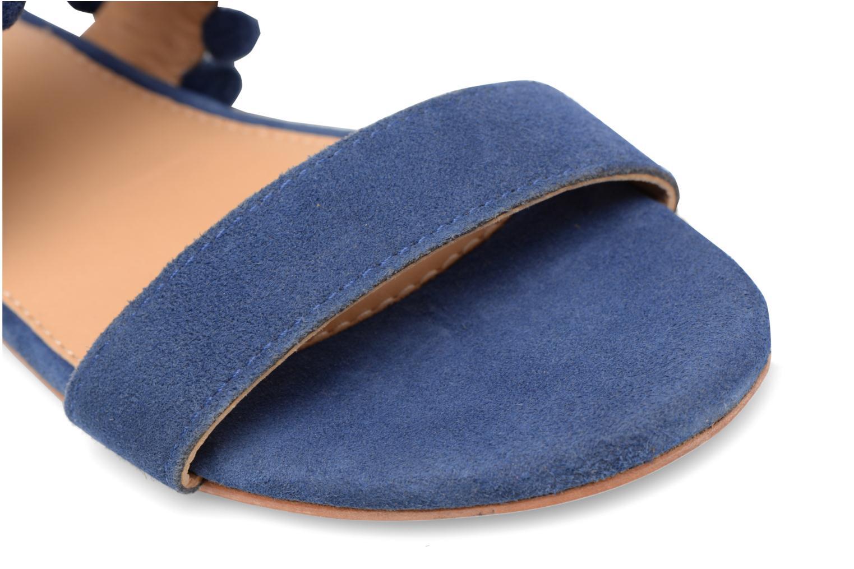 Sandales et nu-pieds Made by SARENZA Bombay Babes Sandales Plates #2 Bleu vue gauche