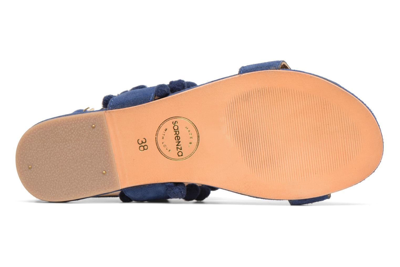 Sandales et nu-pieds Made by SARENZA Bombay Babes Sandales Plates #2 Bleu vue haut