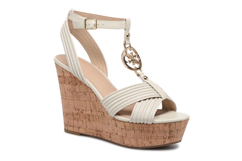 Guess Gilian (Blanc) - Sandales et nu-pieds chez Sarenza (313205)