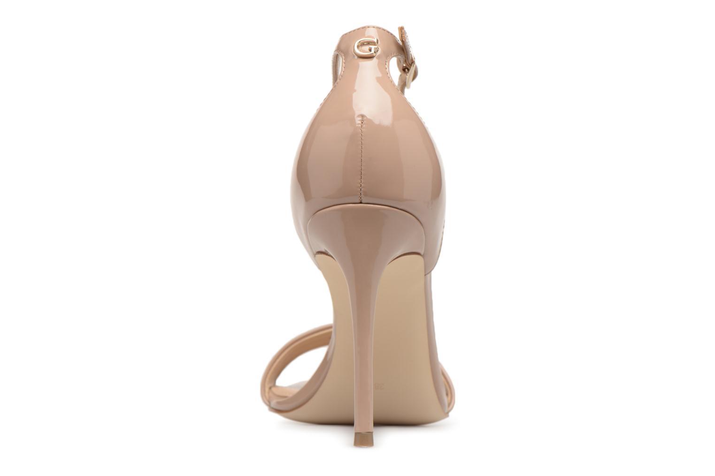 Moda barata y hermosa Guess Karli (Beige) - Sandalias en Más cómodo