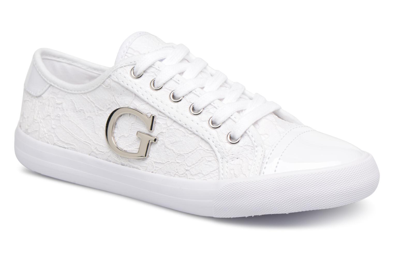 Zapatos promocionales Guess Elly (Blanco) - Deportivas   Casual salvaje