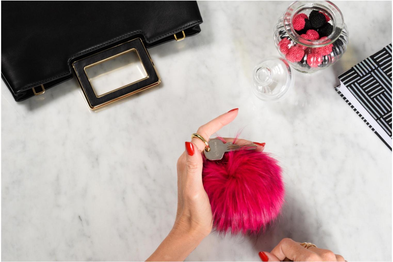 Porte-clés CHARMS FUR LG FUR POM POM Ultra Pink