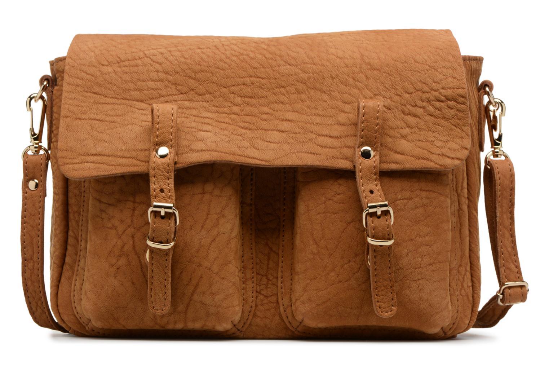 Handbags Craie Mini Maths Reversible Cuir Brown detailed view/ Pair view