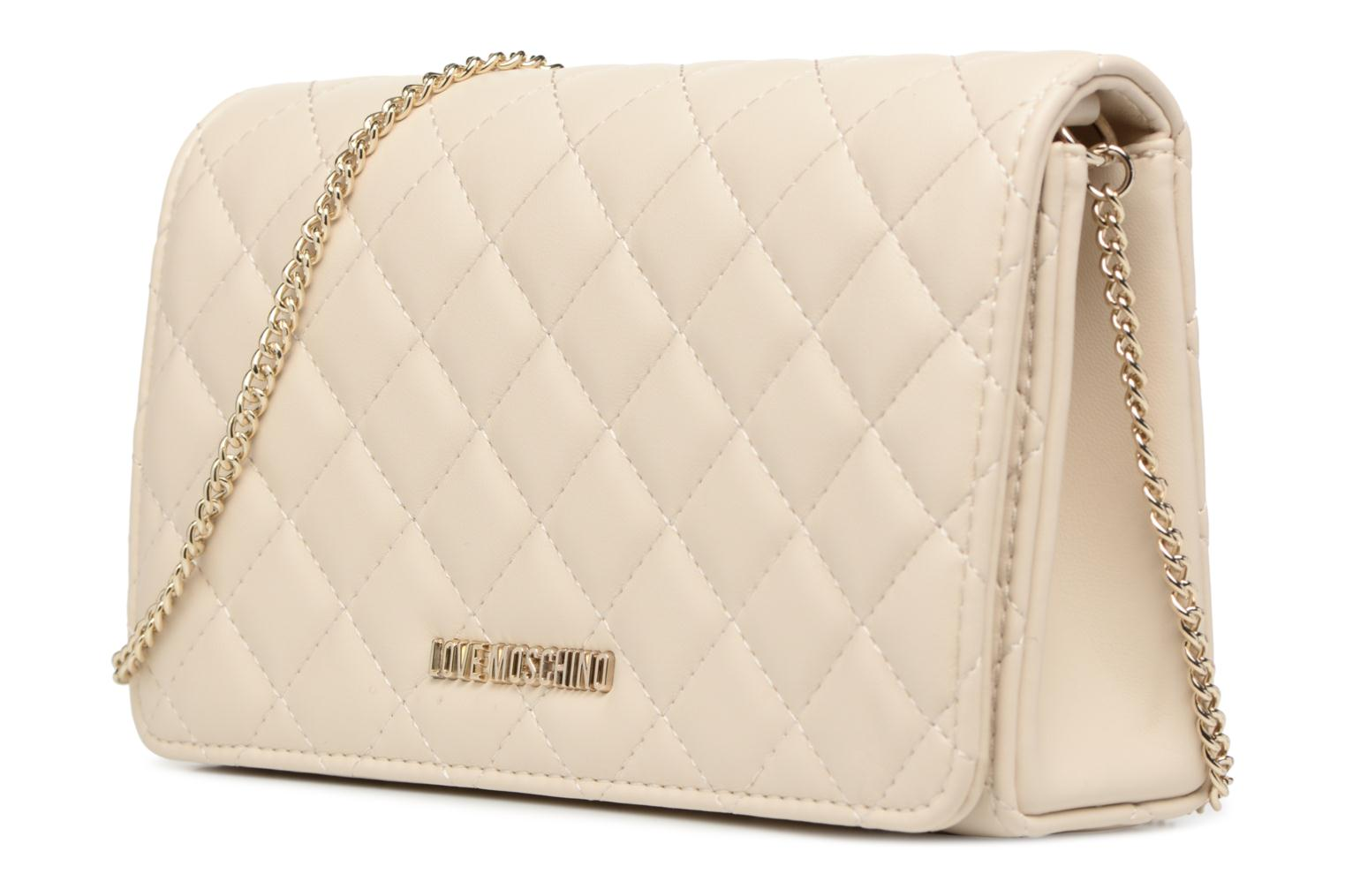 Evening Bag Chaine Quilted 110 Ivory