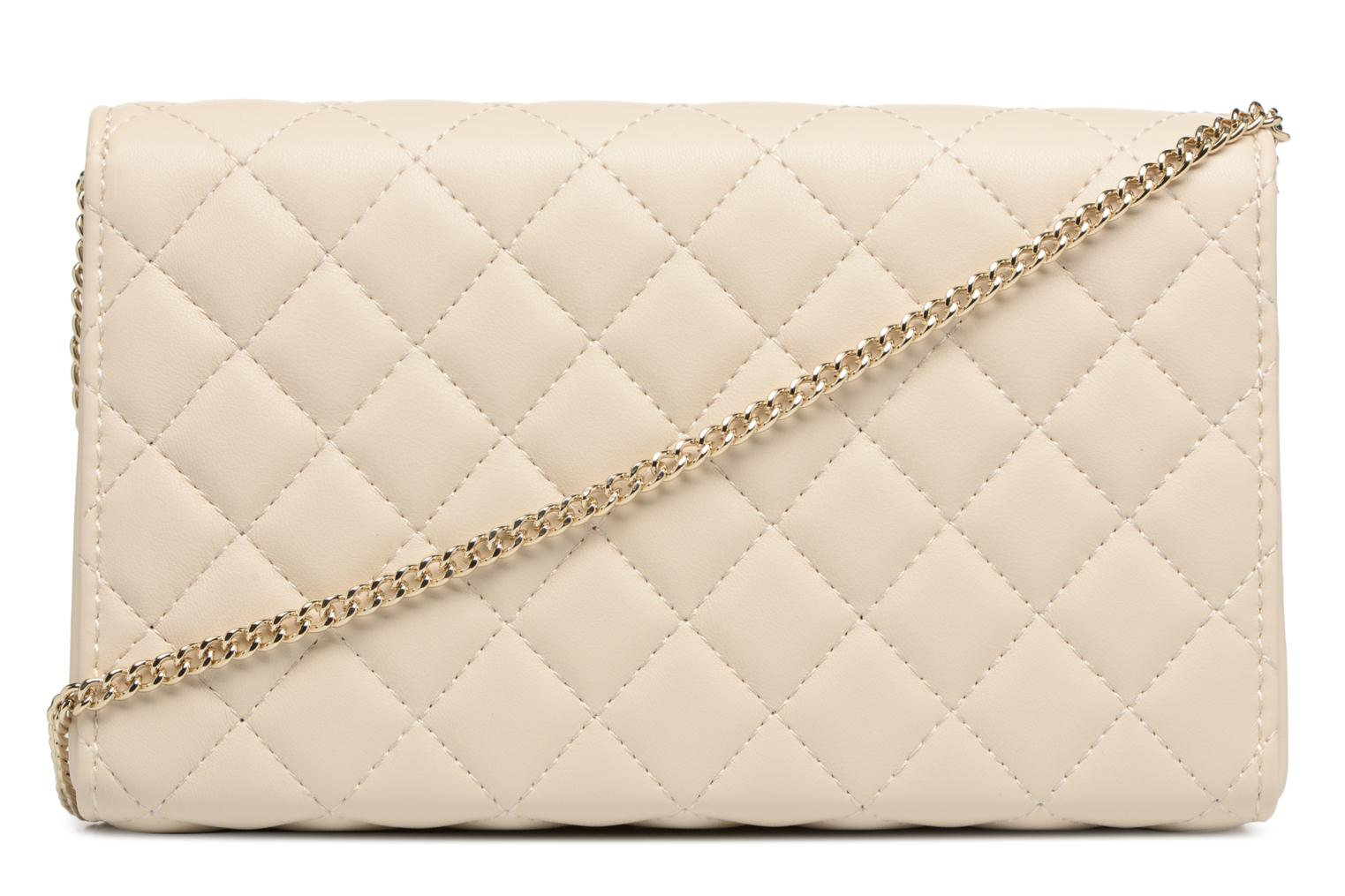 Borse Love Moschino Evening Bag Chaine Quilted Bianco immagine frontale