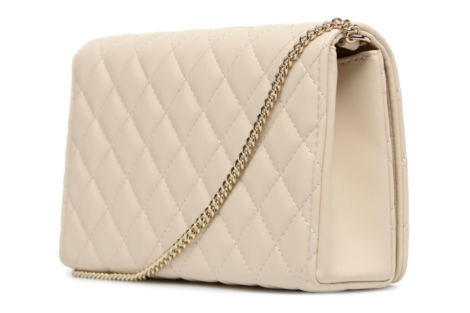 Borse Love Moschino Evening Bag Chaine Quilted Bianco immagine destra