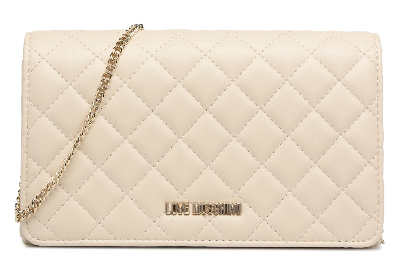 Borse Love Moschino Evening Bag Chaine Quilted Bianco vedi dettaglio/paio