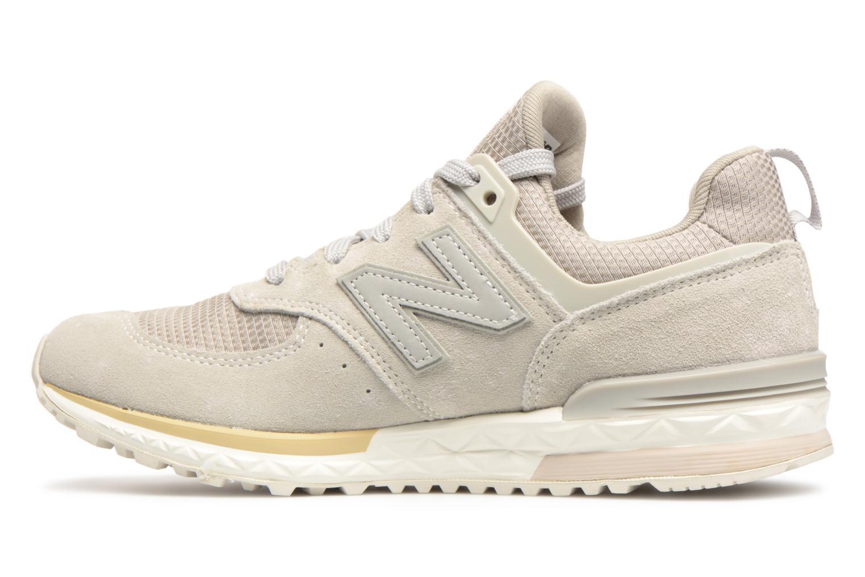 Sneakers New Balance KFL574 Grijs voorkant