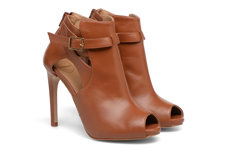 Carioca Crew Boots #2 Cuir Lisse Camel