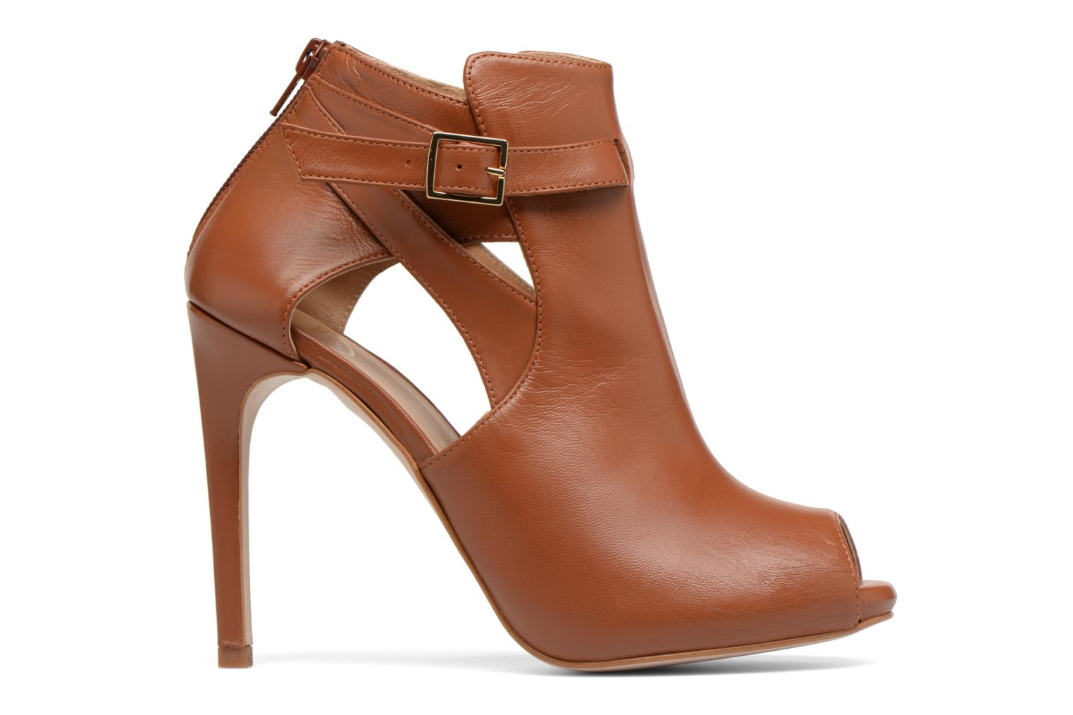 Marques Chaussure femme Made by SARENZA femme Carioca Crew Boots #2 Cuir Lisse Camel