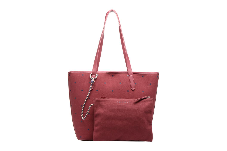 Sacs à main Esprit Alison Dot Shopper Bordeaux vue gauche