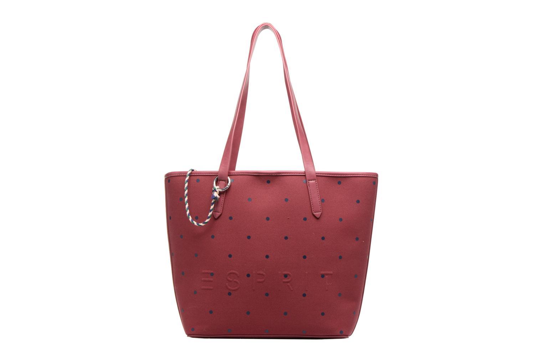 Sacs à main Esprit Alison Dot Shopper Bordeaux vue détail/paire
