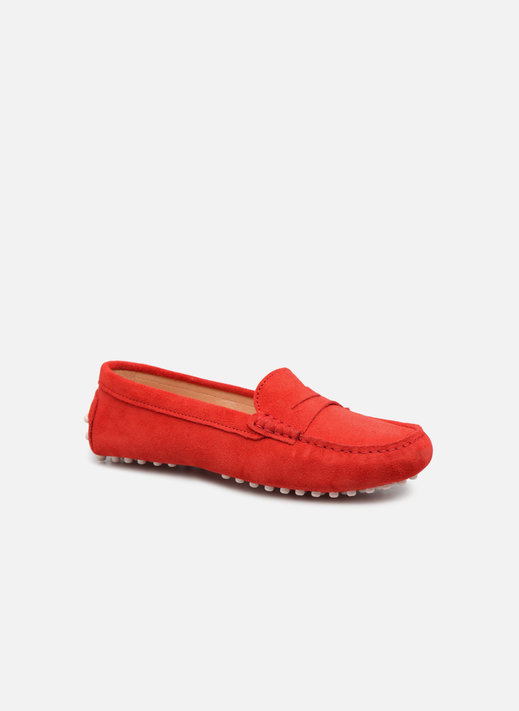Grandes descuentos últimos zapatos Georgia Rose Stalimac (Rojo) - Mocasines Descuento