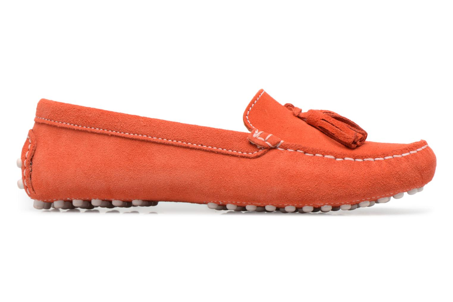 Mocassins Georgia Rose Stalimou Orange vue derrière