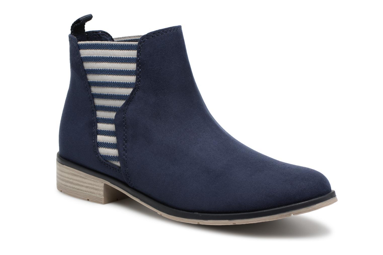 Marco Tozzi Binaj (Bleu) - Bottines et boots chez Sarenza (314143)