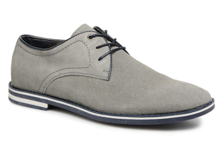 Zapatos de hombres y mujeres de moda casual I Love Shoes KELUIR Leather (Gris) - Zapatos con cordones en Más cómodo
