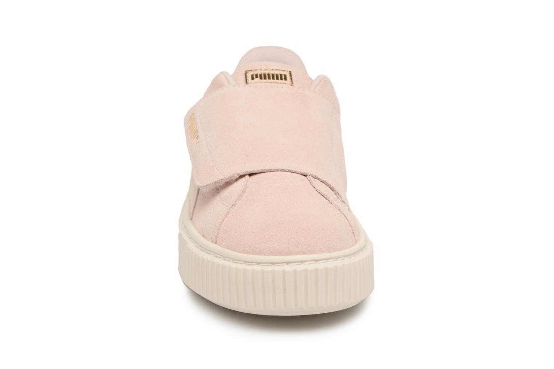 Sneakers Puma Suede Platform Strap Roze model