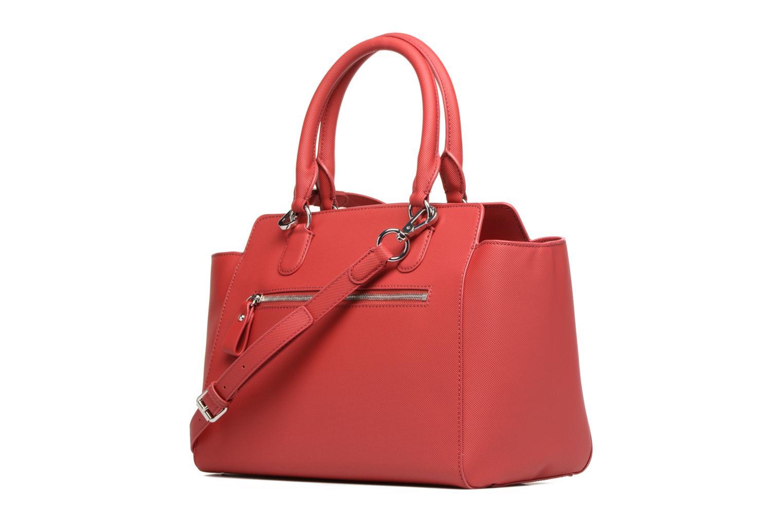 Handtassen Lacoste SHOPPING BAG Rood rechts