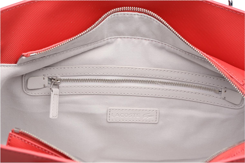 Sacs à main Lacoste SHOPPING BAG Rouge vue derrière