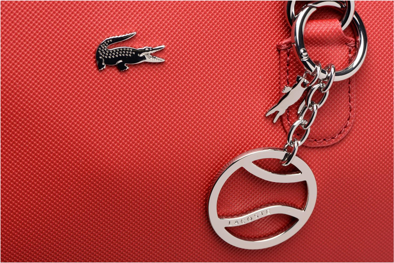 Handtassen Lacoste SHOPPING BAG Rood links