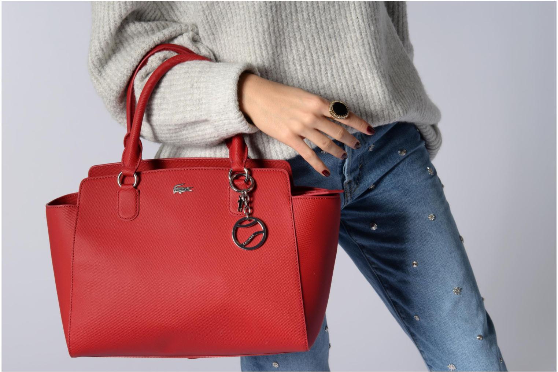 Sacs à main Lacoste SHOPPING BAG Rouge vue haut