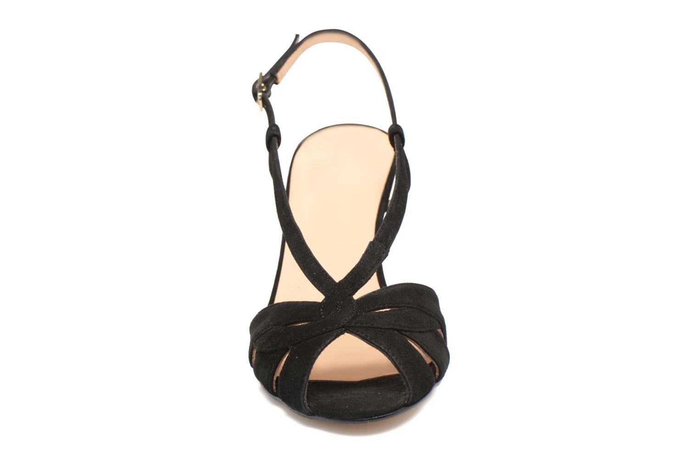 Sandales et nu-pieds Georgia Rose Exquise Noir vue portées chaussures