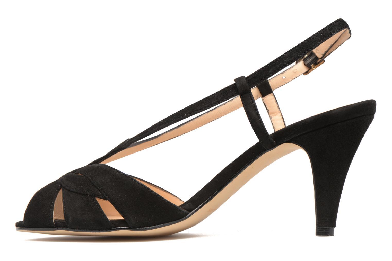 Sandales et nu-pieds Georgia Rose Exquise Noir vue face