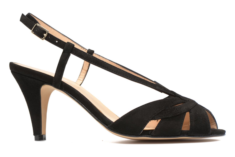 Sandales et nu-pieds Georgia Rose Exquise Noir vue derrière