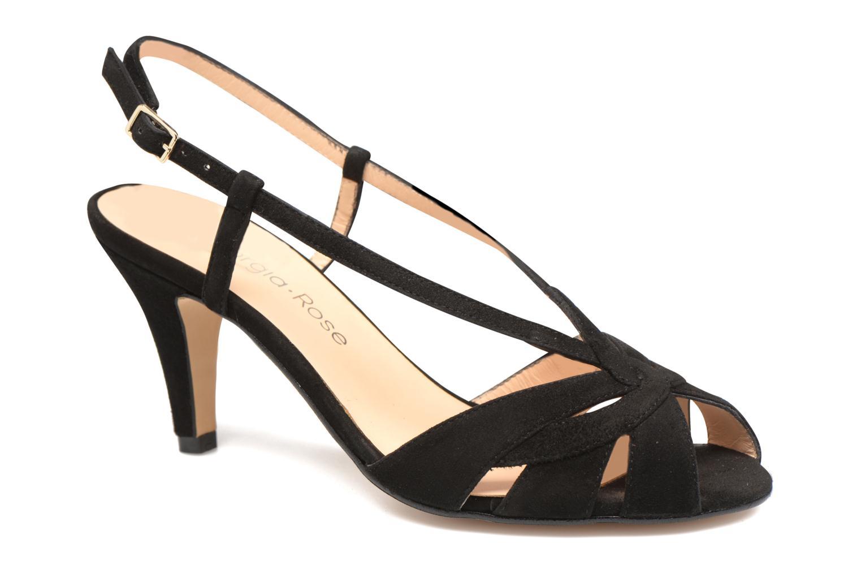 Sandales et nu-pieds Georgia Rose Exquise Noir vue détail/paire