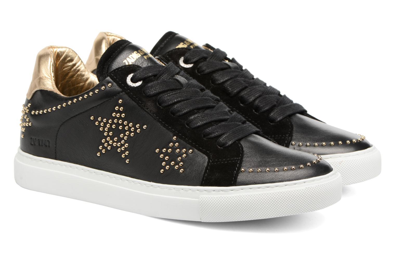 Baskets Zadig & Voltaire STARS Noir vue 3/4