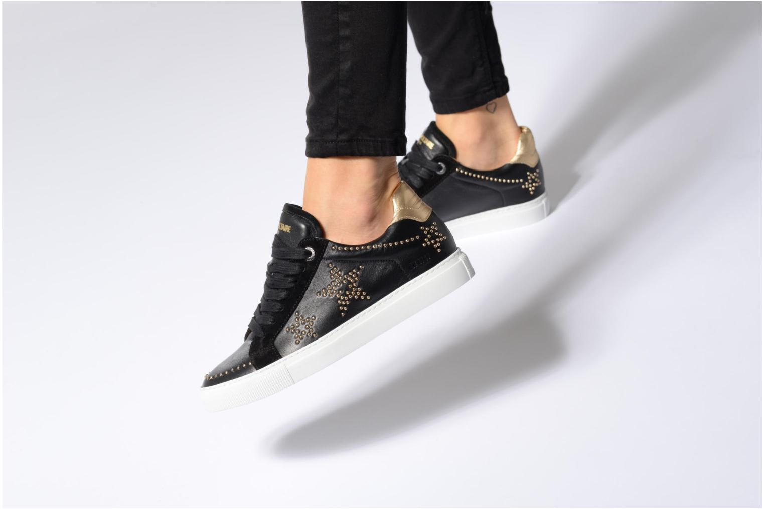Trainers Zadig & Voltaire STARS Black view from underneath / model view