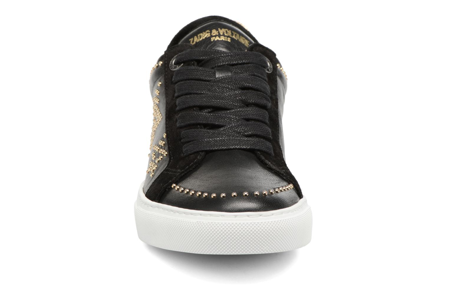 Trainers Zadig & Voltaire STARS Black model view