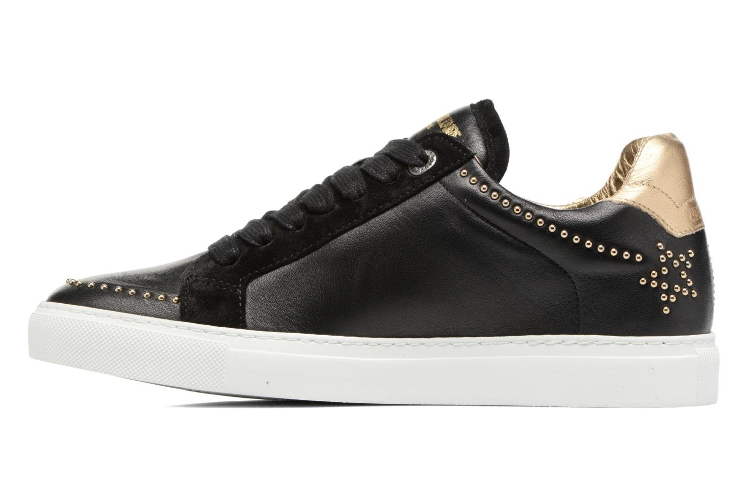 Trainers Zadig & Voltaire STARS Black front view