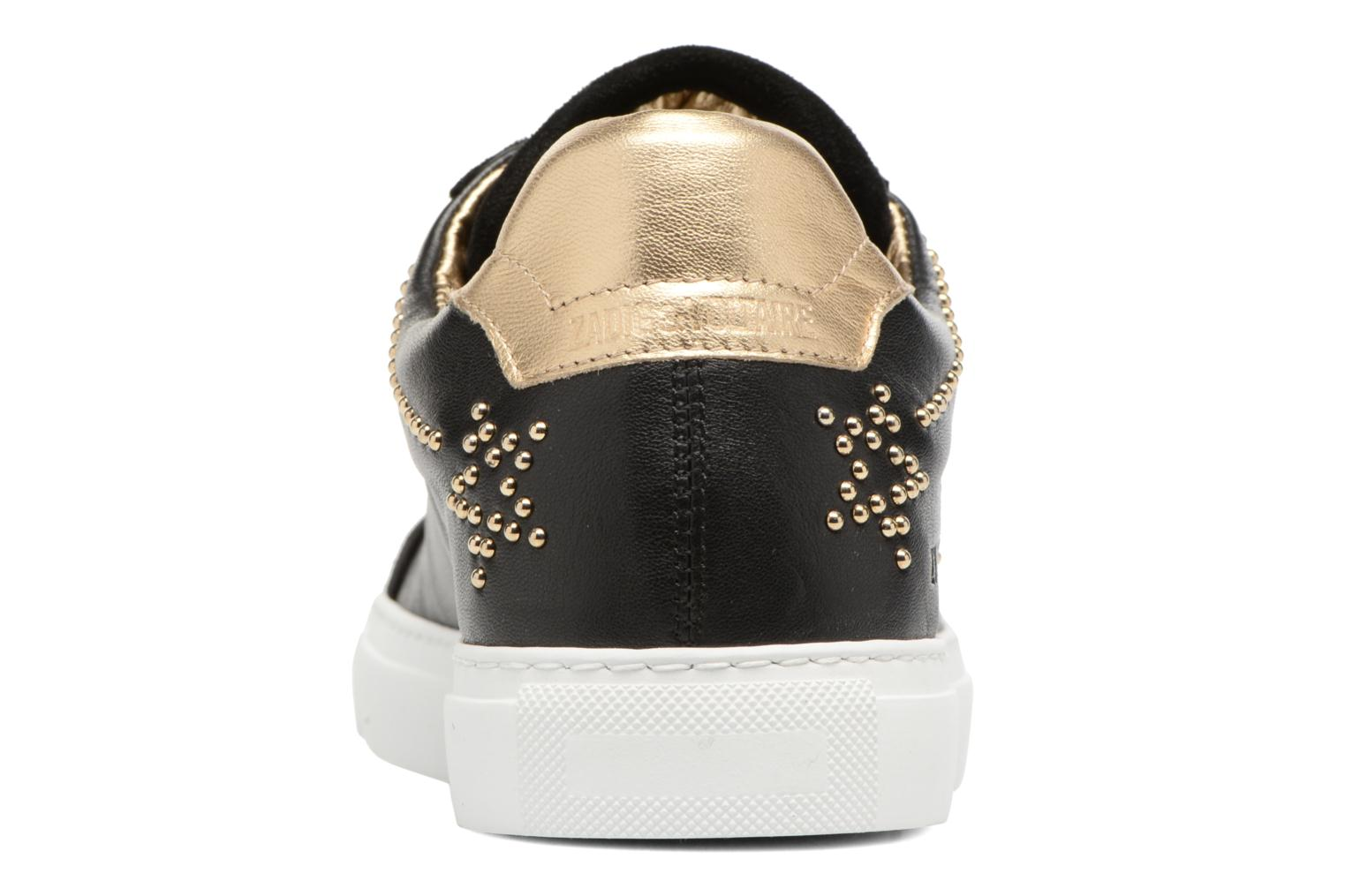 Trainers Zadig & Voltaire STARS Black view from the right