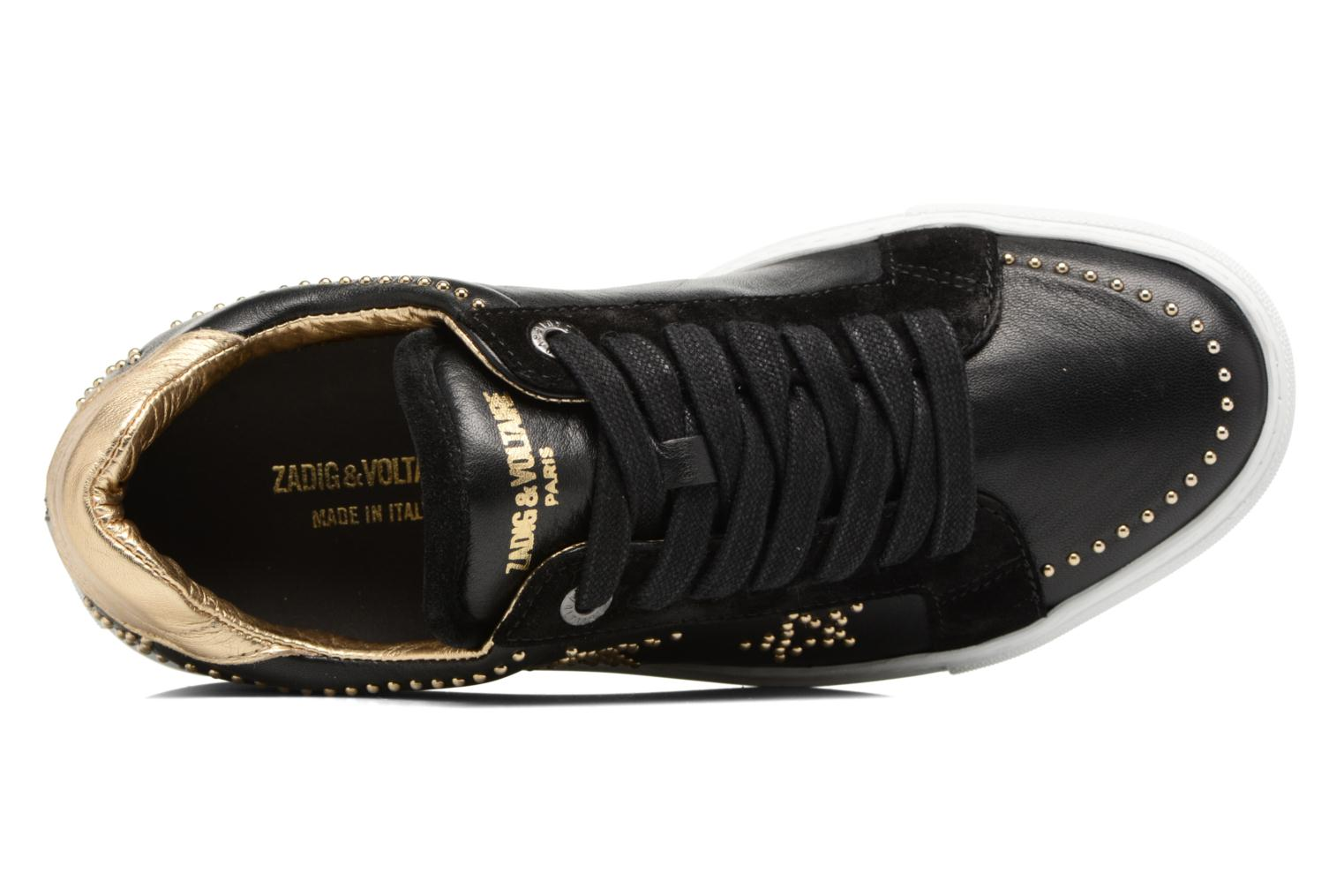Trainers Zadig & Voltaire STARS Black view from the left