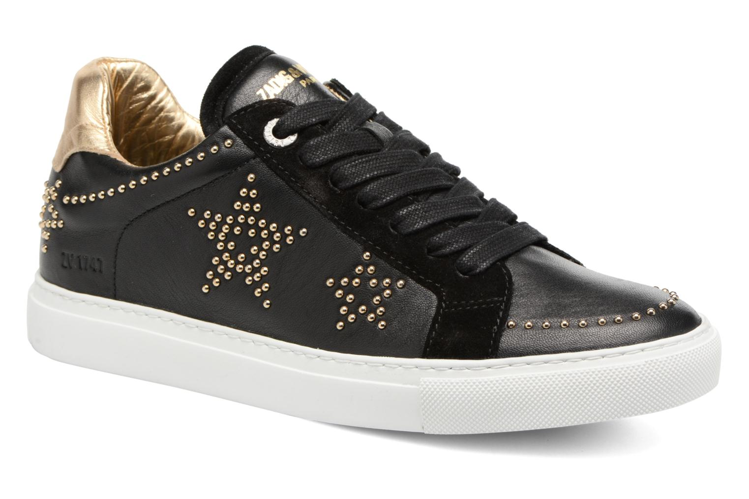 Trainers Zadig & Voltaire STARS Black detailed view/ Pair view