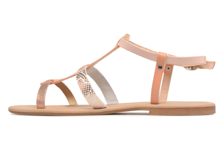 Sandales et nu-pieds Georgia Rose Dobrida Beige vue face