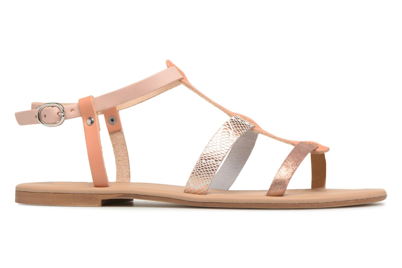 Sandales et nu-pieds Georgia Rose Dobrida Beige vue derrière