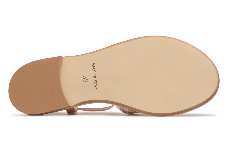 Sandales et nu-pieds Georgia Rose Dobrida Beige vue haut