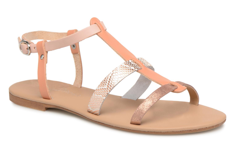 Sandales et nu-pieds Georgia Rose Dobrida Beige vue détail/paire