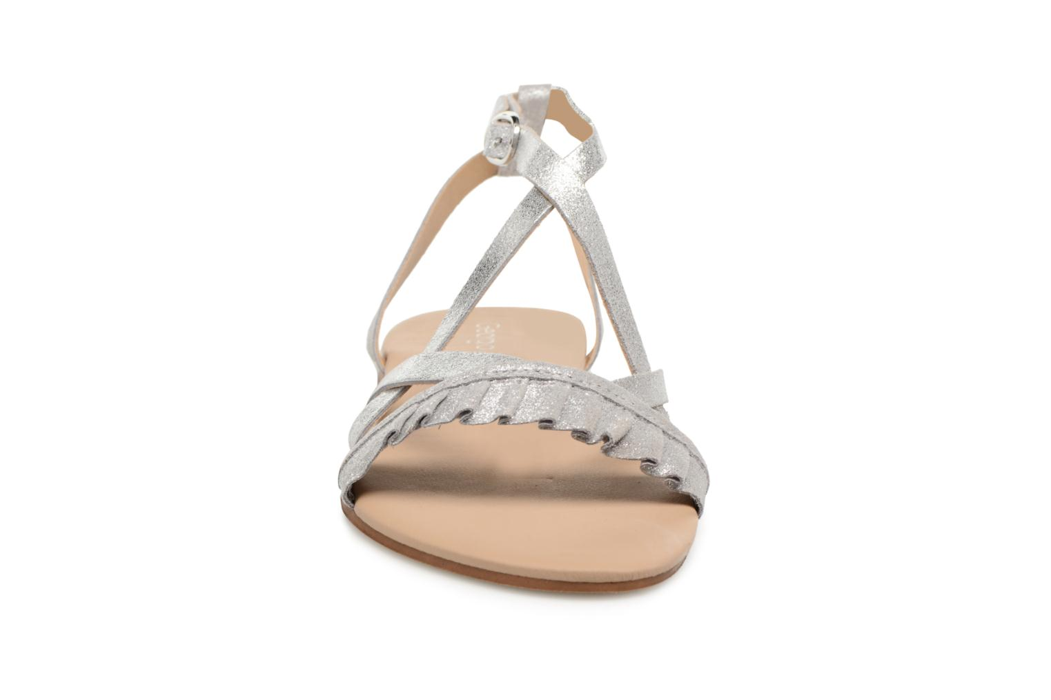 Sandals Georgia Rose Dovolant Silver model view