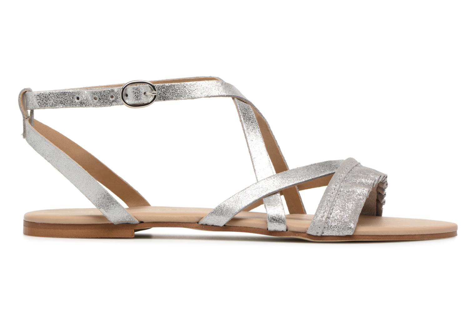 Sandals Georgia Rose Dovolant Silver back view