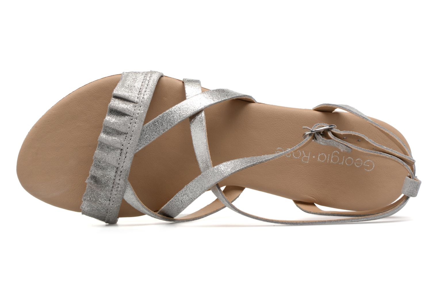 Sandals Georgia Rose Dovolant Silver view from the left